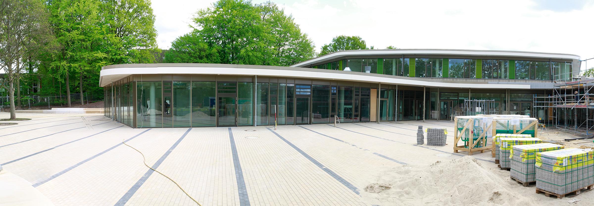 Das LURUM befindet sich in dem Gebaüde der neuen Stadtteilschule Lurup